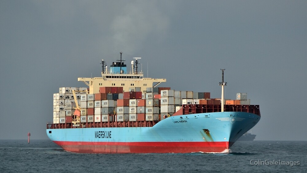 Lars Maersk No 2 by ColinGaleImages