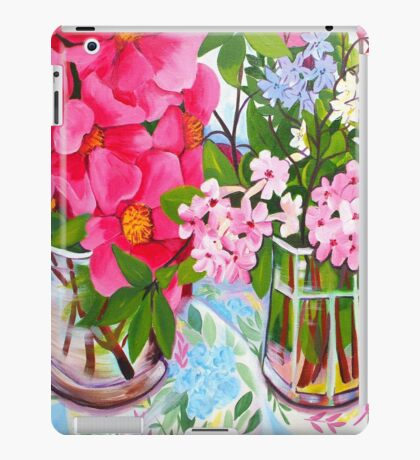 Camelia still life iPad Case/Skin