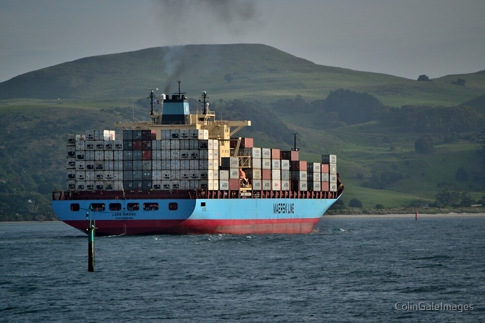 Lars Maersk No 3 by ColinGaleImages
