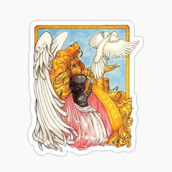 Wings of Love Sticker