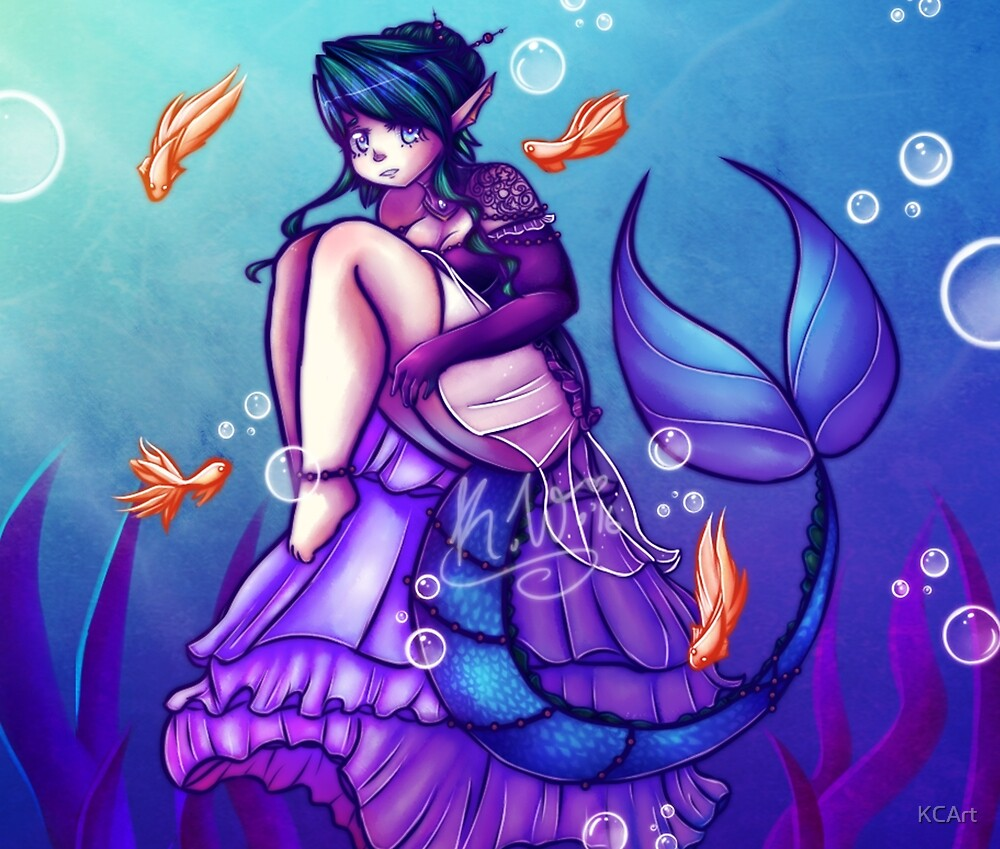 Underwater Beauty by KCArt