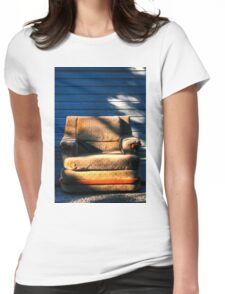 Comfort Outside Womens Fitted T-Shirt