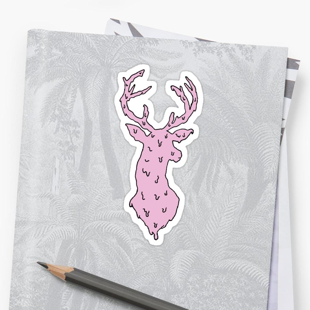 bubble gum deer by MeltCo