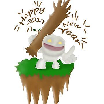 happy new year 2017 from mini tiny dota2 by ankone
