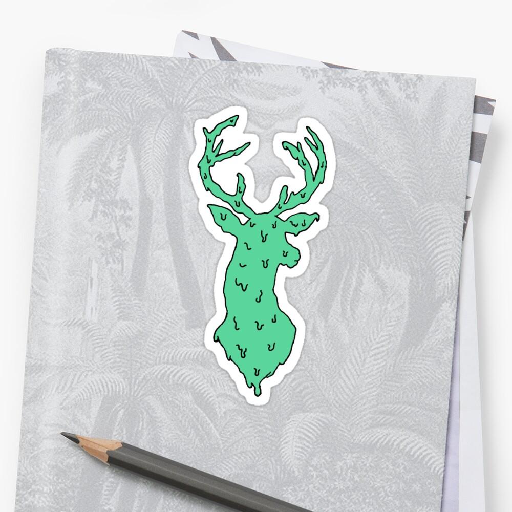 green deer by MeltCo