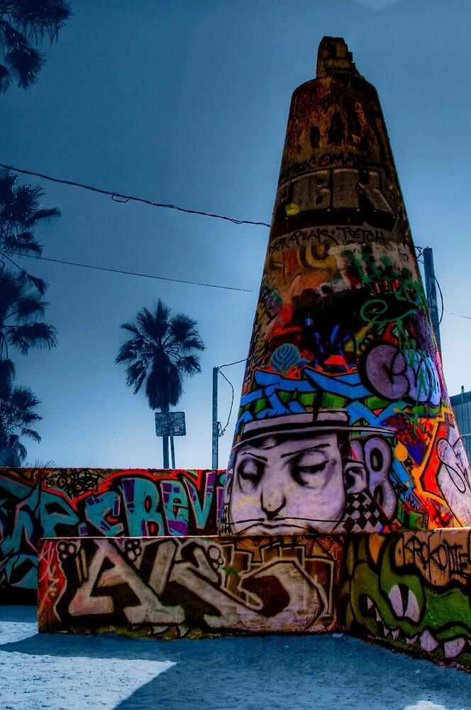 Graffiti Cone by Brendan Arthur Ring
