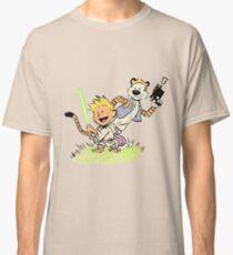 Calvin and Hobbes Star Wars Classic T-Shirt