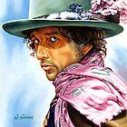 Dylan portrait painting by Star Portraits Soutsos Art