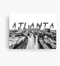 Signature Atlanta Canvas Print