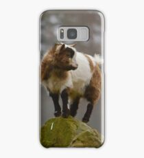Pygmy Goat - King of the Mountain Samsung Galaxy Case/Skin