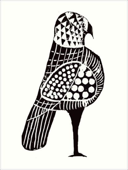 Malay Bird by Herman Van Synghel
