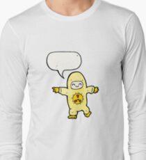 man in radiation suit cartoon T-Shirt