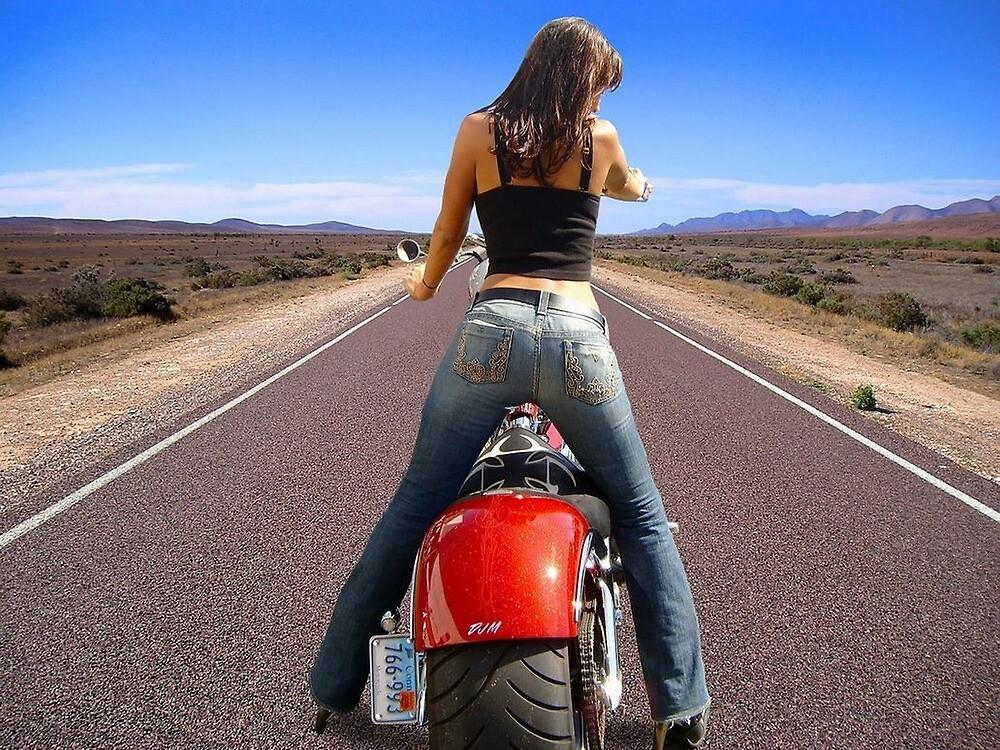 BikerGirl Special by Stephen Abel