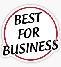 Best for Business Sticker