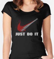 Negan Parody The Walking Dead Women's Fitted Scoop T-Shirt