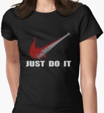 Negan Parody The Walking Dead Womens Fitted T-Shirt