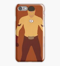 Kid Flash (Wally West) Minimalist iPhone Case/Skin