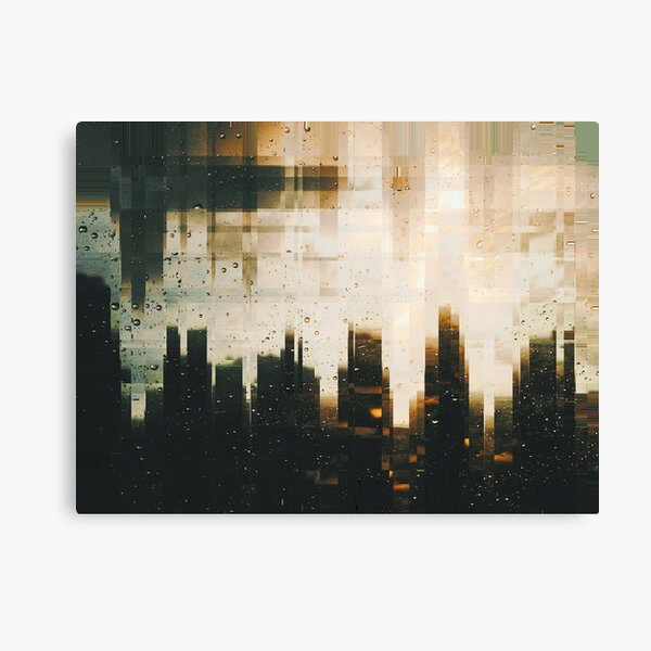 Distorted Reality Canvas Print