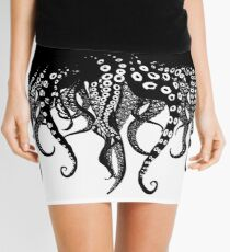 Tentacles Love Mini Skirt