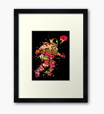 Spaced Out Framed Print