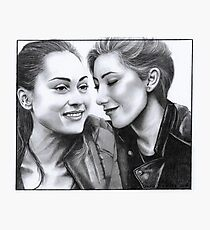 Raven&Anya Photographic Print