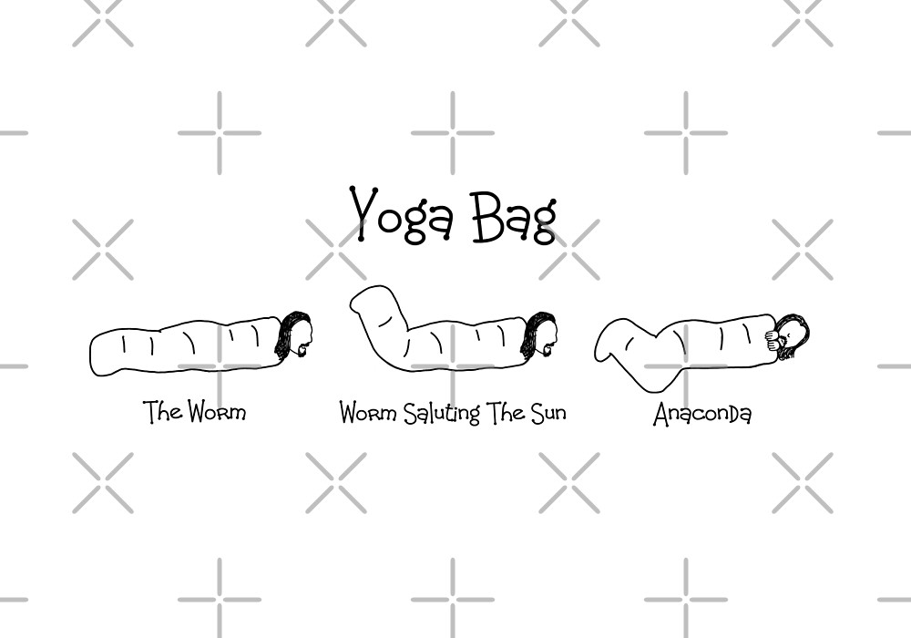Black Books - Yoga Bag by Adrienne Body