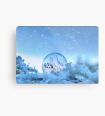 Snow Fairy Metal Print