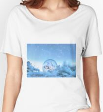 Snow Fairy Women's Relaxed Fit T-Shirt