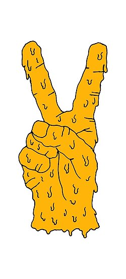 orange hand by MeltCo