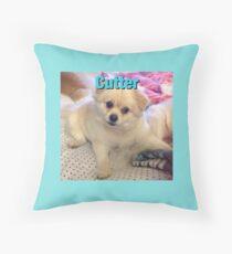 Cutter Throw Pillow