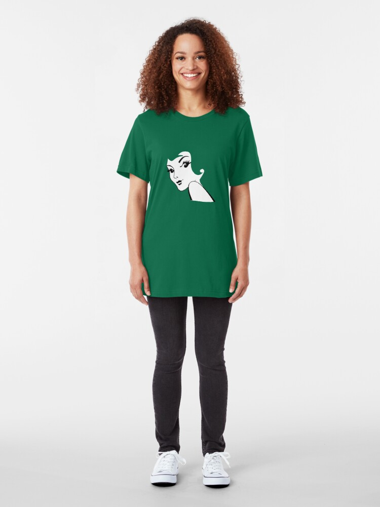 Alternate view of Red Head / Green Head Slim Fit T-Shirt