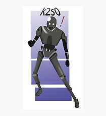 k2s0 star wars  Photographic Print