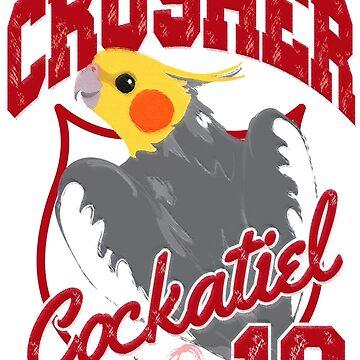 CRUSHER THE COCKATIEL by Chandelina