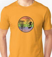 disc golfer Unisex T-Shirt