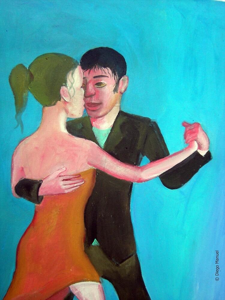 Argentine tango by Diego Manuel. by Diego Manuel Rodriguez