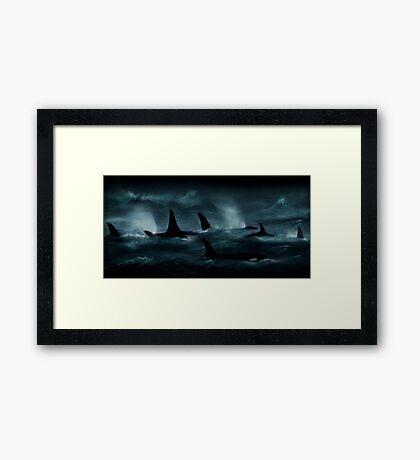 Killer Storm  Framed Print
