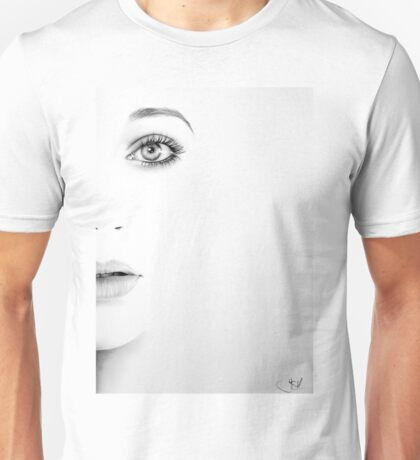 Kate Bush Half Series Minimal Portrait Unisex T-Shirt
