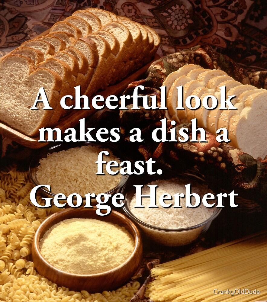 A Cheerful Look - George Herbert by CrankyOldDude