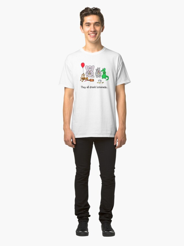 Alternate view of They All Drank Lemonade Classic T-Shirt