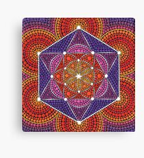 Fire Star- Genesis Pattern Canvas Print