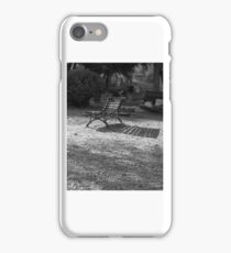 Parkbench Shadow iPhone Case/Skin