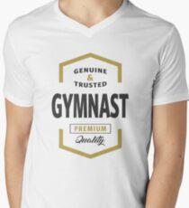 Gymnast Logo Tees Men's V-Neck T-Shirt