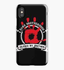 Dark Brotherhood - black iPhone Case/Skin