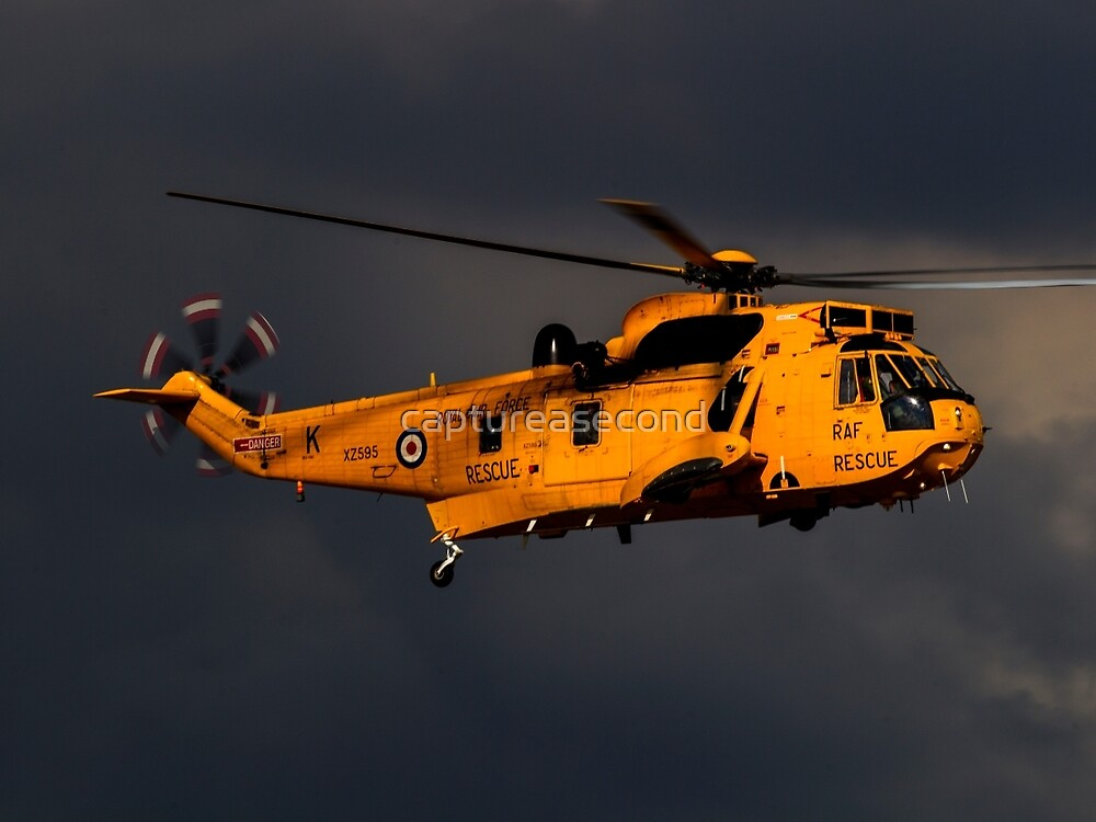 RAF Search and Rescue Seaking by captureasecond