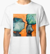 Watercolors and Rain by Melinda Brown Classic T-Shirt