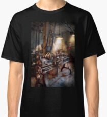 Machinist - Fire Department Lathe Classic T-Shirt
