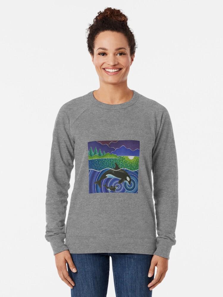 Alternative Ansicht von Orca Sonic Liebe Leichter Pullover