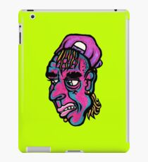 Burnout - Green Background Version iPad Case/Skin