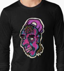 Burnout - Black Background Version Long Sleeve T-Shirt