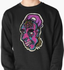 Burnout - Black Background Version Pullover Sweatshirt